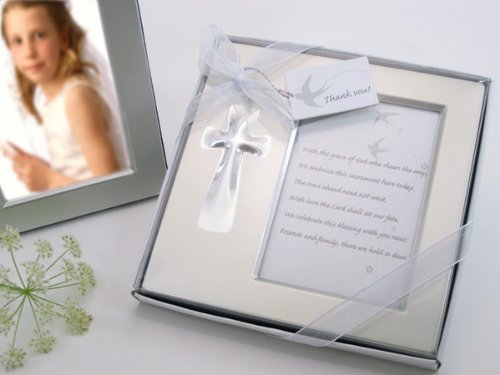 Artisano Designs Bless This Day Cross Photo Frame Favor in Gift Box A11006