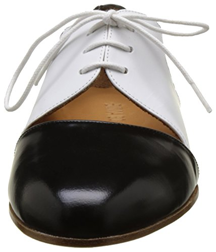 Emma Go Casey, Damen Walkingschuhe Multicolore (Cordoban Black/Calf White/ Cordoban Black)