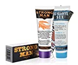 - 4171PGIN5zL - Double Actions of Penis Enlargement – Strong Men XXL Cream and German Orginal Developpe Sex Thickening Growth Erection Gel Combination from Organic Natural Extracts