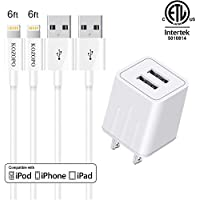 KOZOPO Phone Charger Fast Charging Long Durable 6FT...
