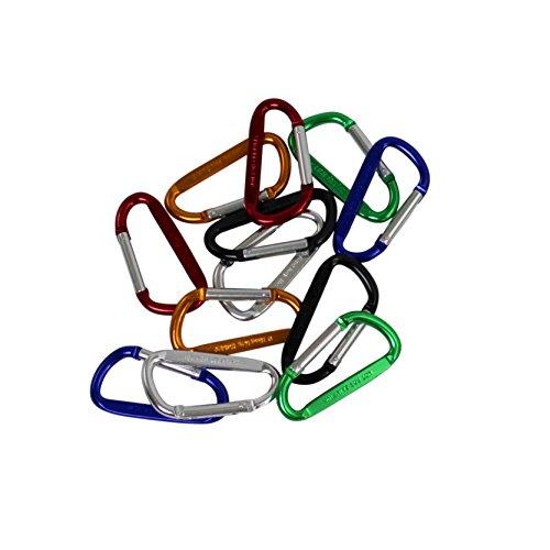 D-ring Key Holder - GreatNeck D-ring Key Holder - 12 Pack