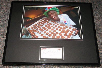 wally-amos-signed-framed-11x14-photo-display-jsa-famous-amos