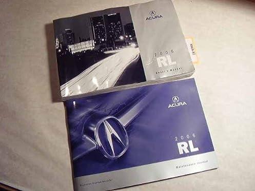 2006 acura rl owners manual acura amazon com books rh amazon com Acura RL Manual Transmission Acura RL Manual Swap