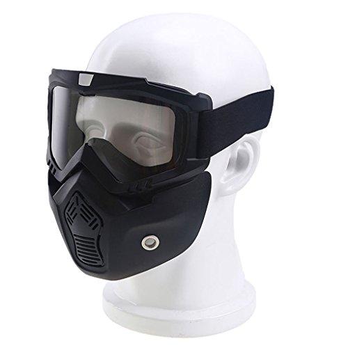 originaltree Winter Sport Anti UV-Snow Maske Helm Eyewear Sonnenbrille Snowboard Ski Goggle, durchsichtig