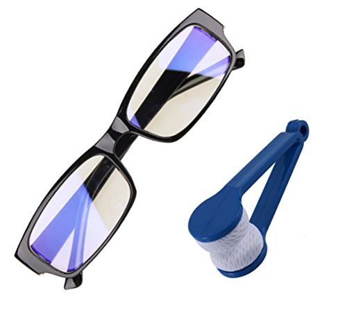 ANTI BLUE RAYS Computer Glasses ANTI FATIGUE ANTI GLARE Protective Glasses, Also Great While Using Phone Or Tablet, Includes a BONUS GLASS - From Glasses For Screen Computer Protection
