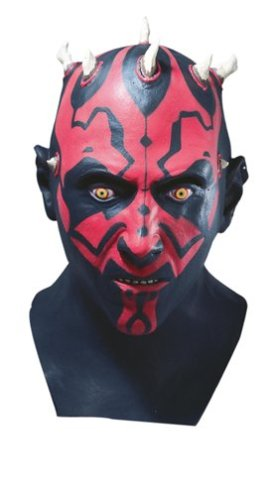 Star Wars: Darth Maul Latex Mask (Darth Maul Star Wars Costume)