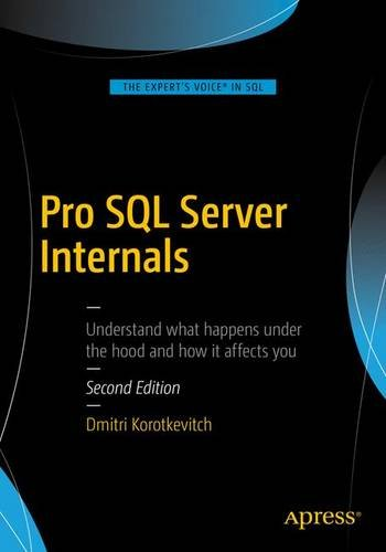 Pro SQL Server Internals, 2nd Edition Front Cover