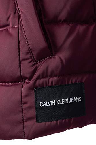 De Nylon Chaqueta Klein Calvin Mid Weight Jeans Plumas Burdeos W 0TqAI