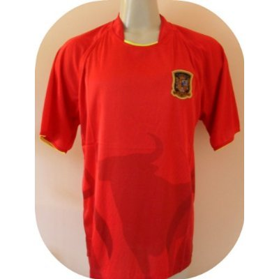 6bca222ab Image Unavailable. Image not available for. Color  AGMAR 2010 South Africa  World Cup Mens Spain ESPAÑA ...