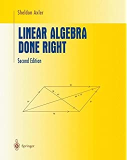 Amazon linear statistical inference and its applications linear algebra done right undergraduate texts in mathematics fandeluxe Gallery
