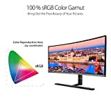 "ASUS ProArt PA34VC 34"" Curved Monitor Uwqhd 100Hz"
