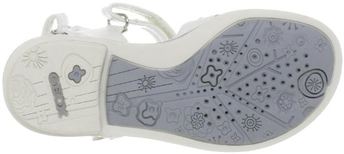Silver Formal giglio Sandal 'J Kids F White Sand Geox w8XTq7q