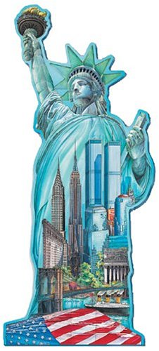 1000pc Statue Liberty Shaped Puzzle product image
