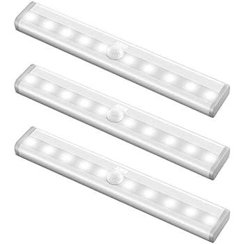 Amazon Com Amir Motion Sensing Closet Lights 3 Pack Diy