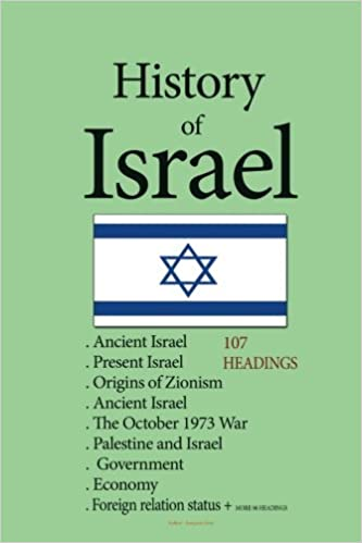 Le premier livre électronique à téléchargerHistory of Israel: Ancient Israel, Origins of Zionism, Ancient Israel, The October 1973 War, Palestine and Israel, Present Israel, Government , Economy, Foreign relation status (French Edition) PDF iBook PDB