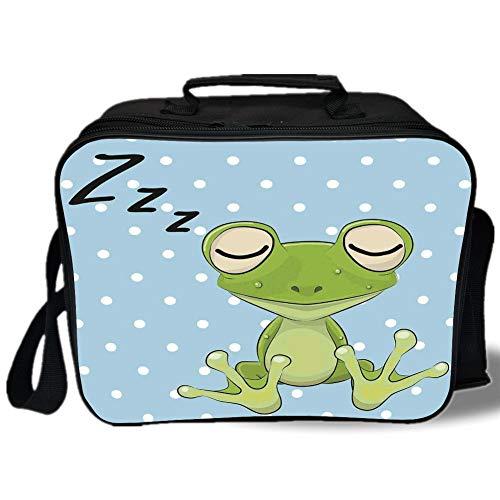 Lands End Bags Insulated Lunch Bag Cartoon Sleeping