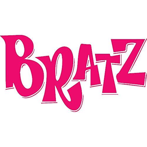 - NBFU DECALS Logo Bratz (Pink) (Set of 2) Premium Waterproof Vinyl Decal Stickers for Laptop Phone Accessory Helmet CAR Window Bumper Mug Tuber Cup Door Wall Decoration