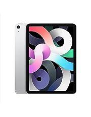 ابل ايباد اير 10.9 بوصة، 64 جيجابايت، واي فاي، الجيل الرابع - باللون الفضي