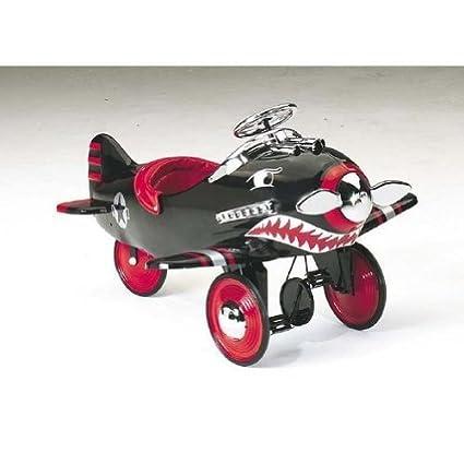 Amazon.com: Flujo de aire Shark Attack Pedal avión: Toys & Games