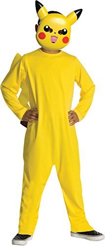 Pokemon Child's Pikachu Costume - One Color - Small