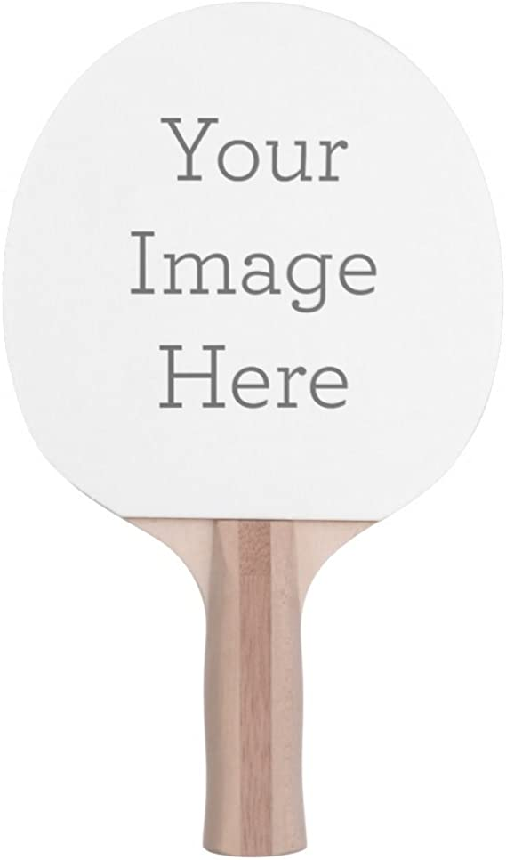 Infusion Custom Photo or Logo Ping Pong Paddle