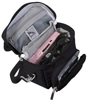 Nintendo Ds Lite Bags - G-HUB Travel bag with Shoulder Strap, Carry Handle, Belt Loop for Nintendo DS Consoles DS / 3DS / DS Lite / 3DS XL / DSi - Black
