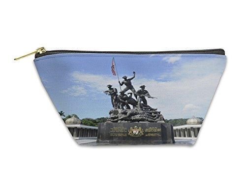 Gear New Accessory Zipper Pouch, Tugu Negara Aka National Monument In Malaysia, Small, - Sale Malaysia In