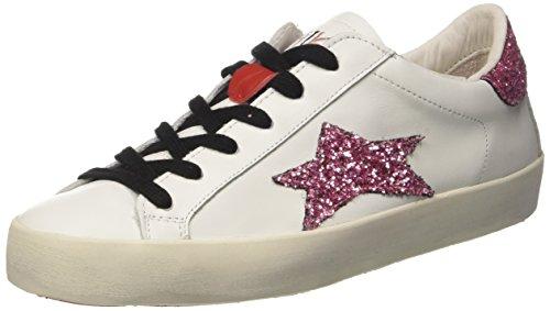 Ishikawa 1210, Sneaker a Collo Basso Unisex-Adulto bianco