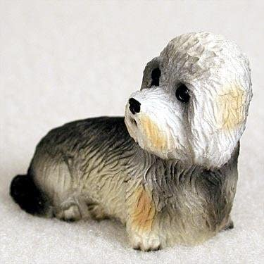 Dandie Dinmont  Terrier Ornament Mini Dog Tiny Ones by Conversation Concepts New