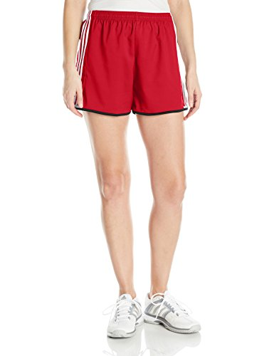 (adidas Women's Soccer Condivo 16 Shorts, Power Red/White, Small)