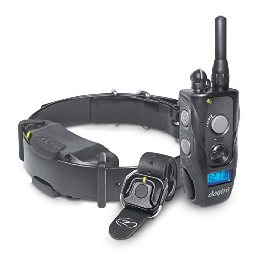 Dogtra 1900S HANDSFREE Remote Training Collar - 3/4 Mile Range, Waterproof, Rechargeable, Shock, Vibration, Hands Free Remote Controller - Includes PetsTEK Dog Training Clicker by Dogtra (Image #1)