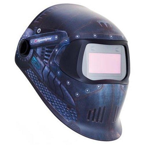 3M Speedglas Trojan Warrior Welding Helmet 100 with Auto-Darkening Filter 100V- Shades 8-12, Model 07-0012-31TW