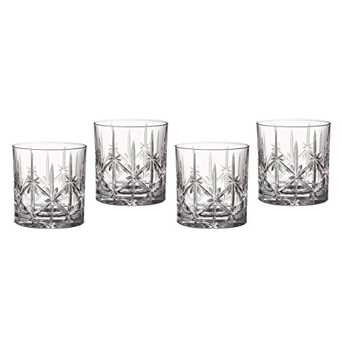 Marquis by Waterford Sparkle Double Old Fashioned Glasses, Set of - Fashioned Glass China Old