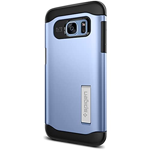 Spigen Slim Armor Galaxy S7 Edge Case with Air Cushion Technology and Hybrid Drop Protection for Galaxy S7 Edge - Blue Coral Sales