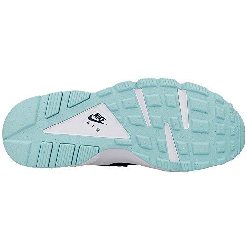 Nike Air Huarache, Scarpe da Ginnastica Uomo armatura marina opale opale bianco isola verde verde 405