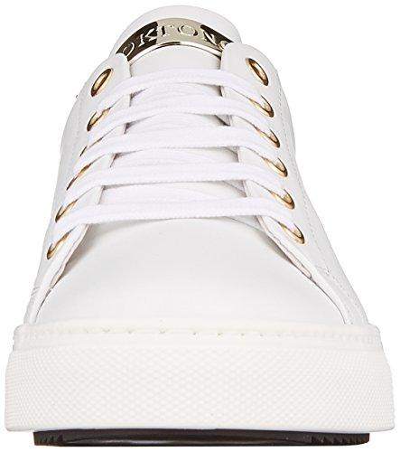 White Scarpe Sneaker Basse Stokton Donna Bianco Ginnastica da 05nadqd