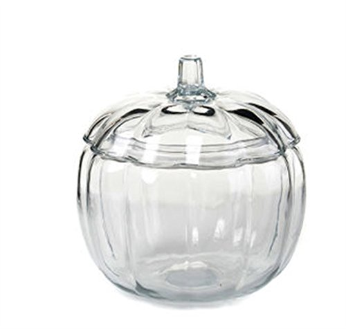 (Anchor Glass Pumpkin Candy Jar )