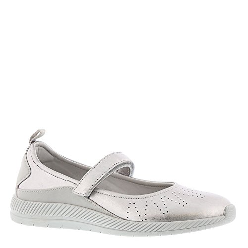 Easy Spirit Garima Womens Slip On 10 B (m) Us Silver