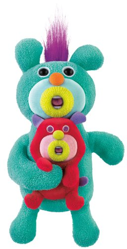 Fisher-Price Mattel The Sing-A-Ma-Jigs Duets - Green with Puppy