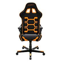 DXRacer Origin Series DOH/OC168/NO Newedge Edition Racing Bucket Seat Office Chair Gaming Chair Ergonomic Computer Chair eSports Desk Chair Executive Chair Furniture With Pillows (Black/Orange)