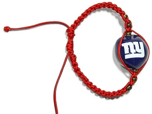 - NFL New York Giants Go Nuts Kukui Nut Macrame Bracelet