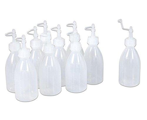 10x Diy Leer : Betzold 52395 leer flasche im set 10 x à 120 ml spritzflasche