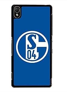 PhoneCaseMaster Design Retro Style Sony Xperia Z3 Funda Carcasa Case Fc Schalke 04 Funda Carcasa Case Skin Cover For Sony Xperia Z3 Black (Bundesliga)