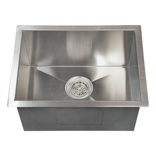 PSSSB2064-SS Sabrina 20 SS Rectangular Undermount Prep Sink
