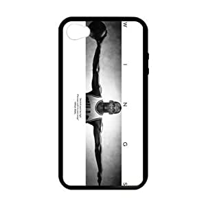 [Accessory] iPhone 4 Case, [Michael Jordan] iPhone 4,4s Case Custom Durable Case Cover for iPhone4s TPU case (Laser Technology)