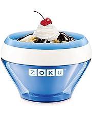 Zoku ZK120-BL Bowl helados cremosos-azul, 0.35 litros, Plástico