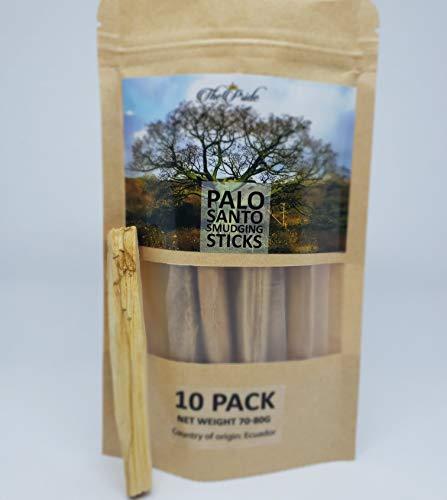 ThePrideCo Premium Palo Santo Smudging Sticks and a FREE 6