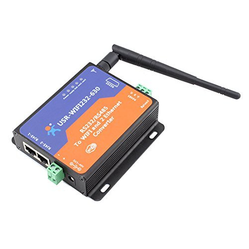 USR-WIFI232-630 Serial RS232/ RS485 to Wifi Server with 2 Channel RJ45 USR-WIFI-630