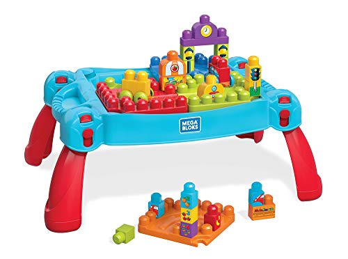 Mega Bloks Build 'N Learn Table Building Set