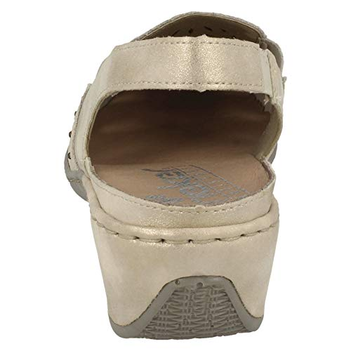 47190 62 Rieker Rieker Shoes 47190 Beige 8q8aEBx7w